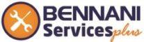 LOGO BENNANI SERVICES plus creation.tn